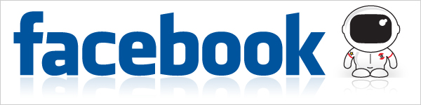 Facebook and Vertical Blogger Logos